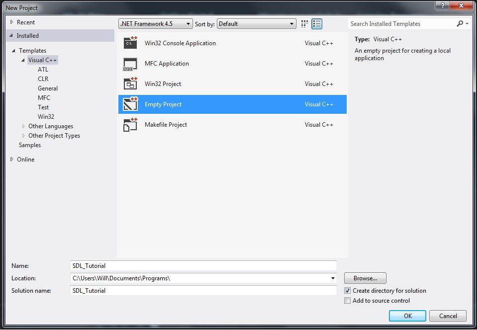 Lesson 0: Visual Studio